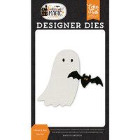 Echo Park - Halloween Magic Collection - Designer Dies - Ghost and Bat