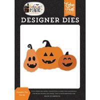 Echo Park - Halloween Magic Collection - Designer Dies - Pumpkin Trio