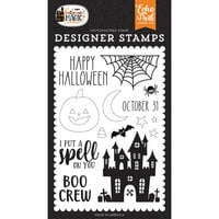 Echo Park - Halloween Magic Collection - Clear Photopolymer Stamps - Spell On You