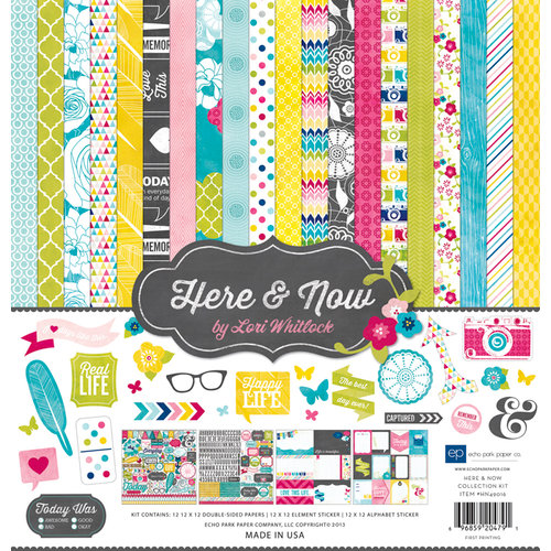 Echo Park - Here and Now Collection - 12 x 12 Collection Kit