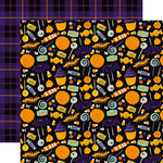 Echo Park - Hocus Pocus Collection - Halloween - 12 x 12 Double Sided Paper - Treat Bag
