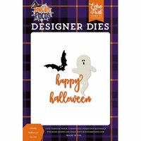 Echo Park - Hocus Pocus Collection - Halloween - Designer Dies - Ghostly Halloween