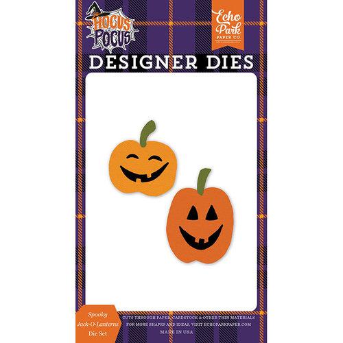Echo Park - Hocus Pocus Collection - Halloween - Designer Dies - Spooky Jack-O-Lanterns