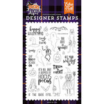 Echo Park - Hocus Pocus Collection - Halloween - Clear Photopolymer Stamps - Happy Haunting