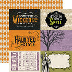 Echo Park - Hocus Pocus Collection - Halloween - 12 x 12 Double Sided Paper - 4 x 6 Journaling Cards