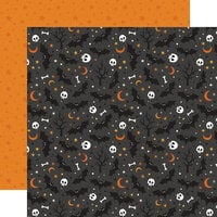 Echo Park - Halloween Party Collection - 12 x 12 Double Sided Paper - Something Wicked