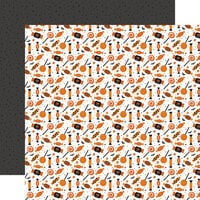 Echo Park - Halloween Party Collection - 12 x 12 Double Sided Paper - Cursed Candy