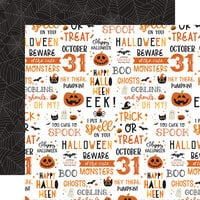 Echo Park - Halloween Party Collection - 12 x 12 Double Sided Paper - October 31st
