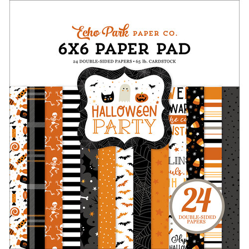 Echo Park - Halloween Party Collection - 6 x 6 Paper Pad