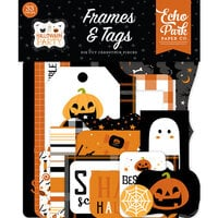 Echo Park - Halloween Party Collection - Ephemera - Frames and Tags