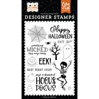 Echo Park - Halloween Party Collection - Clear Photopolymer Stamps - Something Wicked