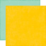 Echo Park - Happy Summer Collection - 12 x 12 Double Sided Paper - Yellow