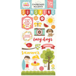 Echo Park - Happy Summer Collection - Chipboard Stickers
