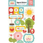 Echo Park - Happy Summer Collection - Layered Stickers