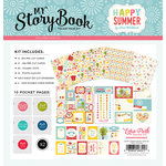 Echo Park - Happy Summer Collection - My StoryBook - Pocket Page Kit