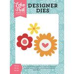 Echo Park - Happy Summer Collection - Designer Dies - Flower Set 5