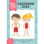 Echo Park - Happy Summer Collection - Designer Dies - Summer Paper Dolls