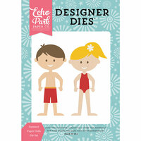 Echo Park - Happy Summer Collection - Designer Dies - Summer Paper Dolls