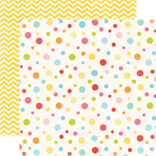 Echo Park - Hello Summer Collection - 12 x 12 Double Sided Paper - Bubbles