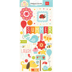 Echo Park - Hello Summer Collection - Chipboard Stickers
