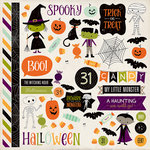 Echo Park - Halloween Town Collection - 12 x 12 Cardstock Stickers - Elements
