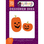Echo Park - Halloween Town Collection - Designer Dies - Halloween Pumpkins