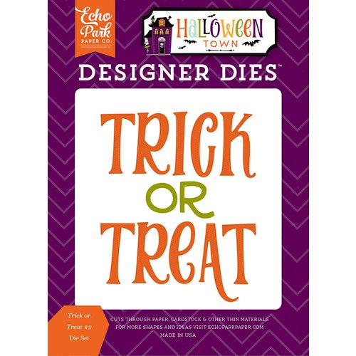 Echo Park - Halloween Town Collection - Designer Dies - Trick or Treat 2