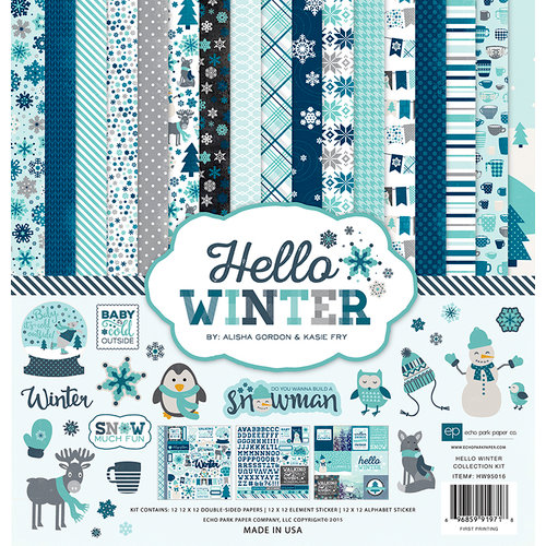 Echo Park Paper Hello Winter Collection Kit