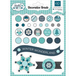 Echo Park - Hello Winter Collection - Decorative Brads