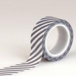 Echo Park - Hello Winter Collection - Decorative Tape - Navy Stripe