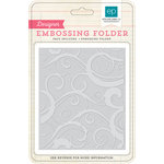 Echo Park - Hello Winter Collection - Embossing Folders - Winter Chill