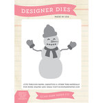 Echo Park - Hello Winter Collection - Designer Dies - Winter Snowman