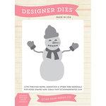 Echo Park - Hello Winter Collection - Designer Dies - Winter Snowman