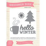 Echo Park - Hello Winter Collection - Designer Dies - Hello Winter