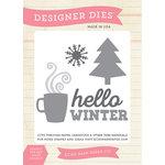 Echo Park - Hello Winter Collection - Designer Dies - Hello Winter