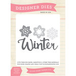Echo Park - Hello Winter Collection - Designer Dies - Winter Snow