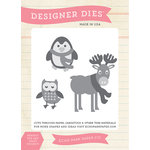 Echo Park - Hello Winter Collection - Designer Dies - Winter Animals