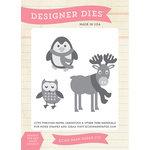 Echo Park - Hello Winter Collection - Designer Dies - Winter Animals