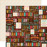 Echo Park - I'd Rather Be Crafting Collection - 12 x 12 Double Sided Paper - Happy Crafter