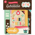 Echo Park - I'd Rather Be Crafting Collection - Ephemera - Frames and Tags