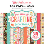 Echo Park - I'd Rather Be Crafting Collection - 6 x 6 Paper Pad