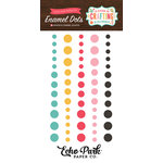 Echo Park - I'd Rather Be Crafting Collection - Enamel Dots
