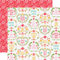 Echo Park - I Heart Crafting Collection - 12 x 12 Double Sided Paper - Makers Gonna Make