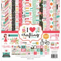 Echo Park - I Heart Crafting Collection - 12 x 12 Collection Kit