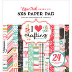 Echo Park - I Heart Crafting Collection - 6 x 6 Paper Pad