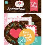 Echo Park - I Heart Crafting Collection - Ephemera