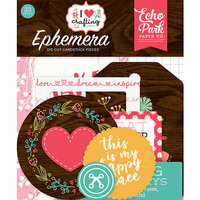 Echo Park - I Heart Crafting Collection - Ephemera