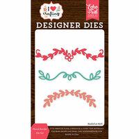 Echo Park - I Heart Crafting Collection - Designer Dies - Floral Border