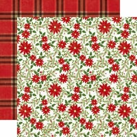 Echo Park - I Love Christmas Collection - 12 x 12 Double Sided Paper - Christmas Joy