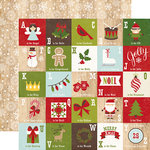 Echo Park - I Love Christmas Collection - 12 x 12 Double Sided Paper - December Magic